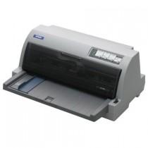 Принтер матричний Epson LQ-690 (A4+, 24pin, 529 зн/сек. (12 cpi), 360x360 dpi, 7 копій (1 Оригінал + 6 копий), LPT, USB)