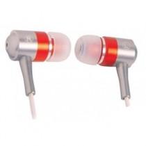 Навушники A4-Tech MK-650 Red (вкладиші, металеві, 32 Ом, 102 дБ, 20Гц - 20КГц)