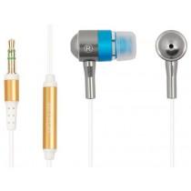 Навушники A4-Tech MK-650 Silver (вкладиші, металеві, 32 Ом, 102 дБ, 20Гц - 20КГц)