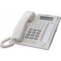 Системний телефон Panasonic KX-T7735UA White (аналоговий) для АТС Panasonic KX-TE / TDA
