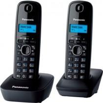 Радіотелефон Panasonic KX-TG1612UAH DECT Black Grey