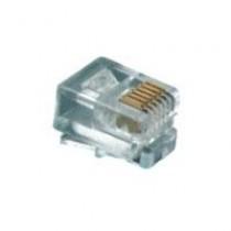 Конектор телефоний RJ12, 6p6c