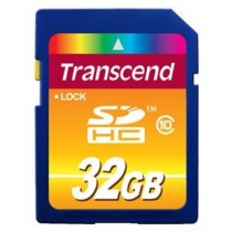 Картка пам'яті SD 32Gb Transcend Class10