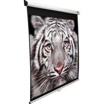 """Екран настінний Elite Screens 298.0x167.6 см, 135"""" (16:9), білий корпус, тип поверхні MaxWhite, кут обзору до 150 градусів, пульт Д/У, ручний"""