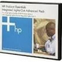 Опція HP iLO Adv 1-Svr incl 1yr TS & U SW