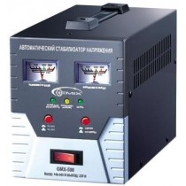 Стабілізатор Gemix GMX-500, 500 VA (350 Вт), 140-260В