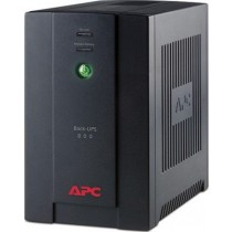 ББЖ APC Back UPS BX800CI-RS (480W/ 800VA, Line Interactive, час переходу на батарею - 8 мс, вхідний розєм: Schuko CEE 7/7P, вихідні розєми: 4xSchuko CEE 7 (Battery Backup), USB, захист від сплесків напруги, рівень шуму - 45 дБ, 215x130x336 мм, 8 кг, чорни