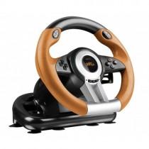 Руль Speed-Link DRIFT O.Z. Racing Wheel PC, black-orange+педалі