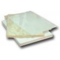 Плівка прозора візитка 65х95мм (75мкм), 100шт./уп.