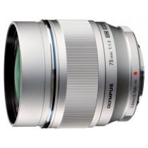 Об'єктив Olympus ET-M7518 75mm 1:1.8 Silver