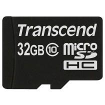 Картка пам'яті microSD 32Gb Transcend HC10