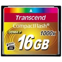 Картка пам'яті CF 16Gb Transcend 1000X