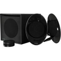 """Колонки Microlab FC-50 2.1 Black (SAT 2x12 Вт, динаміки: 4""""+0.75"""", пластик, SUB: 30 Вт, динамік: 5"""", дерево, 40-20000 Гц, безпровідний ПДУ)"""