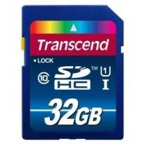 Картка пам'яті SD 32Gb Transcend Premium (Class 10) Ultra High Speed 1