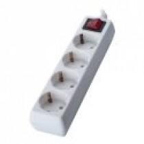 Мережевий фільтр Sven Standard 2G-3 - 5.0м на 3 розеток (білий, максимальна нагрузка 2,2кВт)