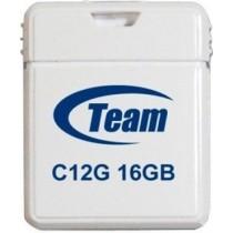 Флешка 16Gb Team C12G White