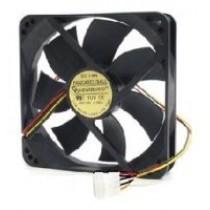 Вентилятор 80мм Gembird 80х80х25мм BB 2500 об/мин 25дБ 4pin черный