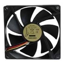 Вентилятор 90мм Gembird FANCASE2 90х90х25мм BB 2500 об/мин 25дБ 3pin черный
