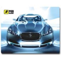 Килимок POD Mыshku Jaguar, 240x190 мм 10 шт/ящ.: Верхний слой - твердый пластик,запаянный по периметру, Нижний слой - вспененный ПВХ(не скользит), Толщина: 2 мм