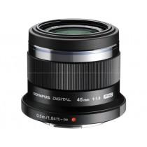 Об'єктив Olympus ET-M4518 45mm 1:1.8 Black