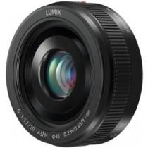 Об'єктив Panasonic Micro 4/3 Lens 20mm F1.7 ASPH Metal body Black