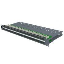 """Патч-панель 19"""", 48xRJ45, UTP, кат.5е, 1U PID-00073"""