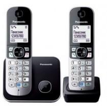 Радіотелефон Panasonic KX-TG6812UAB Black DECT + дод.слухавка