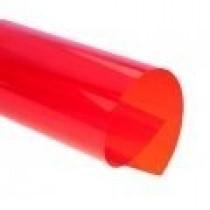 Обкладинка пластикова прозора A4, червоний, 180мкм, 100шт./уп.